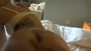 Getting to creampie April Brookes twice! - VideosXXXBook