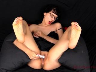 Feet in the Air Masturbation Trailer