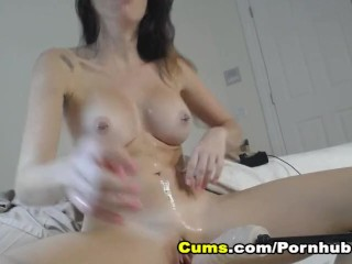 Busty College Cam Babe Having Fun With Her Sex Toys