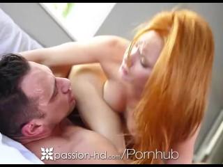 Passion HD-rapporto a 3 con Maci Winslett e la rossa Alex Tanner