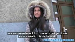 PublicAgent Student wants to fuck for cash