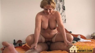 Meine Tante zu Besuch  riding reverse cowgirl hd blonde blowjob bigtits cumshots german shaved pussy licking big boobs oldiesprivat granny tit fuck