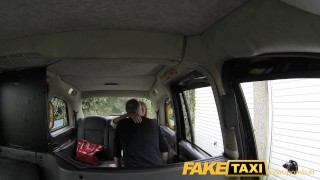 FakeTaxi Deep anal for lady with big tits faketaxi rough milf blonde blowjob rimming cumshot deepthroat spycam public car reality camera facial cum on face