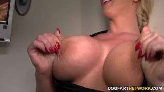 Alura Jenson takes anonymous black cock at Gloryhole big cock hardcore big tits italian blowjob blonde gloryhole cumshot interracial dogfartnetwork fetish fake tits busty facial