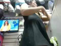 Public Milf WebCam in the shop