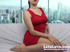 Lelu Love-Lady In Red Teases Flashes SPH