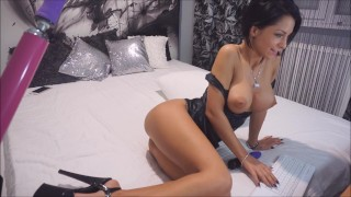 Anisyia Livejasmin Latex Extreme High-Heels ANAL blowjob fucking-machine  sex machine ass fuck big ass recorded private fucking machine big tits big cock tattoo fetish romania brunette petite latex anal extreme high heels