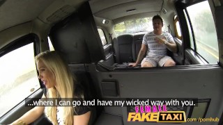 FemaleFakeTaxi Stranded Builder Has a Stroke of Luck