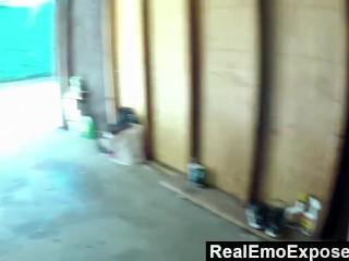 RealEmoExposed - Sicily Being Naughty In the Garage