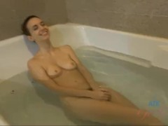 Tali Dova's hairy pussy catches all of your cum on the date