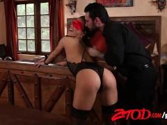 ZTOD – Sexy Kalina Ryu Tied Up