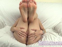 Lelu Love-Feet Ass And Pussy Jerkoff Encouragement