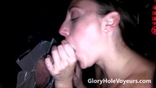 Melanie Hicks & Phoenix Wild Suck Cocks in Gloryhole  melanie hicks big tits big cock blowgang blowjob gloryhole kink cock sucking brunette reality swallow gloryholevoyeurs phoenix wild cum shot natural tits