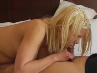 Sexy Blonde Barbie Blaze Gives BBBJ Part 3