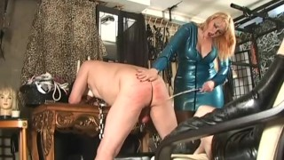 Fucking Size Queen - Femdom Pegging  femdom sex pegging spanking caning redhead femdom blonde voyeur fake-tits fetish female-domination strap-on kink latex julie simone