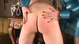 Fucking Size Queen - Femdom Pegging  strap on femdom sex pegging spanking caning redhead femdom blonde voyeur fetish kink latex female domination julie simone fake tits