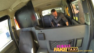 FemaleFakeTaxi Cocky fella shown who's the boss