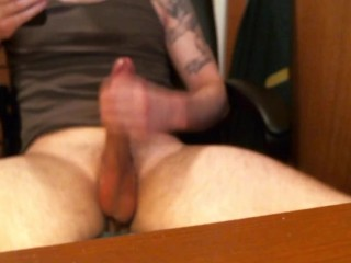 My First Solo Jerk Off and Cum Video