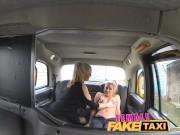 FemaleFakeTaxi Finger-fucking a fit bird