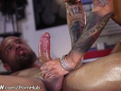 Bonnie Rotten Squirts from Anal Sex with Huge Cock