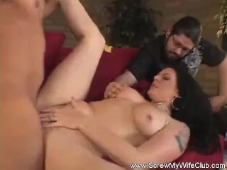 Hotwife Swinging With Married Couple
