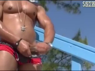 Castro busting a nut or two