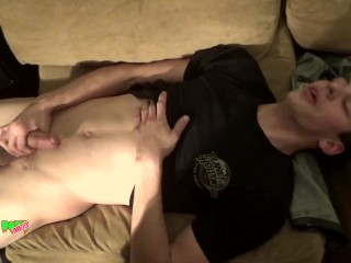Rookie Straight Bait Dudes Turned On To Interracial Gay Bareback Sex
