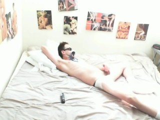 FULL VID-Smelling Cunt Drenched Panties-Jerkin