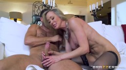 Brazzers - Hot milf Brandi Love gets some young cock