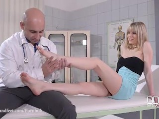 Doctor's Footjob Orders - Foot Fucking The Pain Away