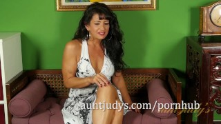 Preview 1 of Latina MILF Gabrielle Lane Tells You About Herself
