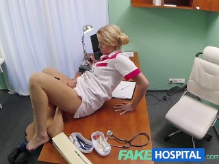 FakeHospital Sex prescribed by hot nurse