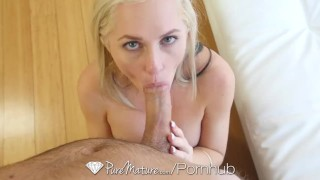 PureMature - Blonde milf Alena Croft takes a cock in her perfect ass