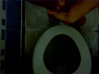 Jerking In Toilet Room