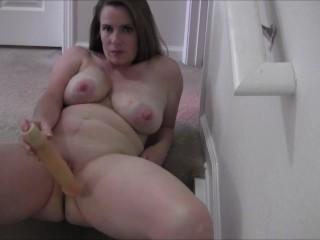 Nikki Masturbating On The Stairs