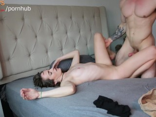 Shes Loving The Muscle Cock On This Stud.