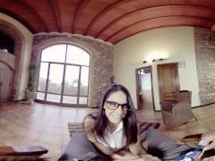 BaDoinkVR 180 –  Naughty Schoolgirl Gets A D: Carolina Abril