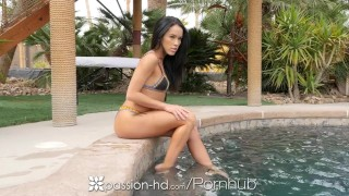 Passion-HD - Spring Break fun in the sun for Megan Rain