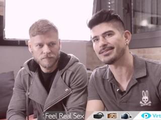 Happy sex year - VR Gay porn featurette