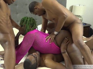 Huge white cock fucks cop girl