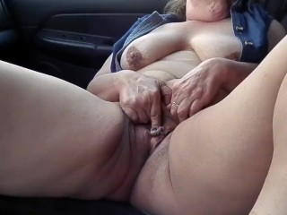 Playing With Myself In My Truck
