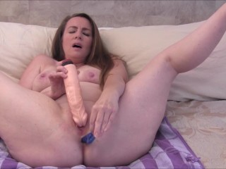 Nikki's 1st Anal Masturbation in 2 Years