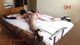 Anal orgasm - Chained slave slut part 3 (POV)