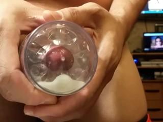 Fleshlight Quickshot internal cumshot