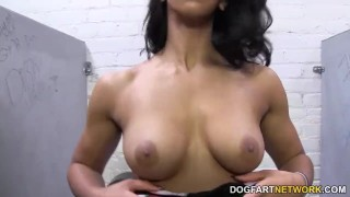 Sophia Fiore gives blowjob - Gloryhole Initiations  ebony hd videos latina hardcore black kink blowjob gloryhole sophia fiore dogfart glory hole pornstar interracial dogfartnetwork fetish