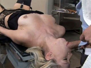 Kissy Visits Her Doctor Who Is into All Kinds of Kinky Procedures