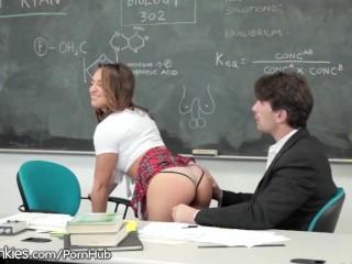 Sara Luvv Spanked and Plowed by Teacher