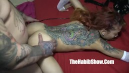 freaky petite asian banged by hood rican tattoo chiraq style