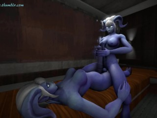 draenei frottage