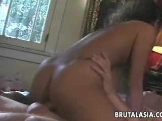 Deluxe hot Asian slut getting fucked in a hot way
